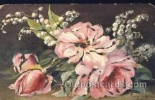 xrt233008 - Artist Signed Mary Golay Postcard Postcards