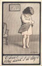 xrt235005 - Artist Signed A.E. Hayden Postcard Postcards