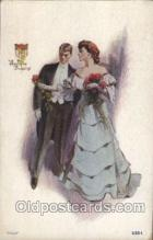 xrt248004 - Artist Signed J.V. McFall Postcard Postcards