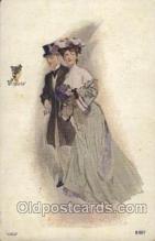 xrt248014 - Artist Signed J.V. McFall Postcard Postcards
