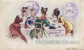 xrt256031 - Artist Signed Paul C. Kober,  P.C.K. Postcard Postcards
