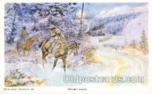 xrt260002 - Artist Charles Russell, Postcard Post Card
