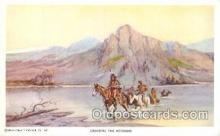 xrt260004 - Artist Charles Russell, Postcard Post Card