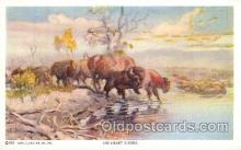 xrt260005 - Artist Charles Russell, Postcard Post Card