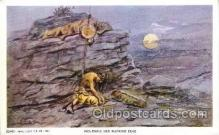 xrt260008 - Artist Charles Russell, Postcard Post Card
