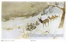 xrt260010 - Artist Charles Russell, Postcard Post Card