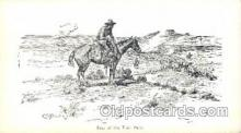 xrt260028 - Artist Charles Russell, Postcard Post Card
