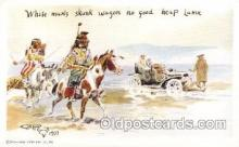 xrt260040 - Artist Charles Russell, Postcard Post Card