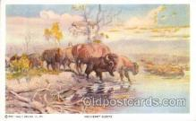 xrt260042 - Artist Charles Russell, Postcard Post Card