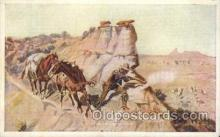 xrt260043 - Artist Charles Russell, Postcard Post Card