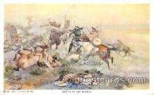 xrt260045 - Artist Charles Russell, Postcard Post Card