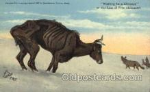 xrt260054 - Artist Charles Russell, Postcard Post Card
