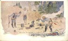 xrt260055 - Artist Charles Russell, Postcard Post Card