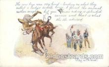 xrt260059 - Artist Charles Russell, Postcard Post Card