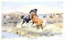 xrt260064 - Artist Charles Russell, Postcard Post Card