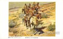 xrt260072 - Artist Charles Russell, Postcard Post Card