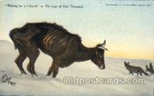 xrt260074 - Artist Charles Russell, Postcard Post Card