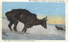 xrt260075 - Artist Charles Russell, Postcard Post Card