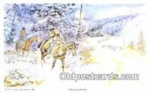 xrt260088 - Artist Charles M Russell Postcard Post Card Old Vintage Antique