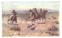 xrt260090 - Artist Charles M Russell Postcard Post Card Old Vintage Antique
