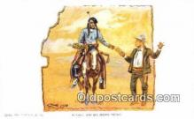 xrt260092 - Artist Charles M Russell Postcard Post Card Old Vintage Antique
