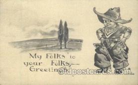 xrt269006 - Artist Signed Bernhardt Wall, Postcard Postcards