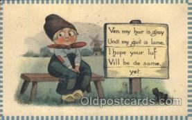 xrt269008 - Artist Signed Bernhardt Wall, Postcard Postcards