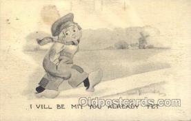 xrt269017 - Artist Signed Bernhardt Wall, Postcard Postcards