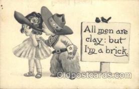 xrt269020 - Artist Signed Bernhardt Wall, Postcard Postcards