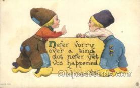xrt269037 - Artist Signed Bernhardt Wall, Postcard Postcards