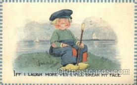 xrt269039 - Artist Signed Bernhardt Wall, Postcard Postcards