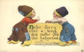xrt269040 - Artist Signed Bernhardt Wall, Postcard Postcards