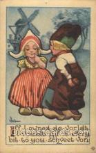 xrt269061 - Artist Signed Bernhardt Wall, Postcard Postcards
