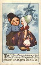 xrt269066 - Artist Signed Bernhardt Wall, Postcard Postcards