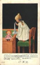 xrt269069 - Artist Signed Bernhardt Wall, Postcard Postcards