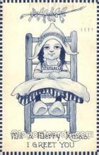 xrt269070 - Artist Signed Bernhardt Wall, Postcard Postcards
