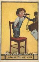 xrt269076 - Artist Signed Bernhardt Wall, Postcard Postcards