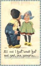 xrt269079 - Artist Signed Bernhardt Wall, Postcard Postcards