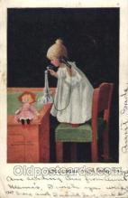 xrt269114 - Artist Signed Bernhardt Wall, Postcard Postcards