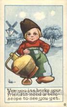 xrt269116 - Artist Signed Bernhardt Wall, Postcard Postcards