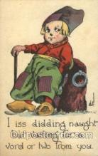 xrt269118 - Artist Signed Bernhardt Wall, Postcard Postcards