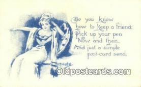 xrt269146 - Artist Bernhardt Wall Postcard Post Card Old Vintage Antique