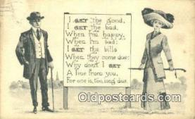 xrt269149 - Artist Bernhardt Wall Postcard Post Card Old Vintage Antique