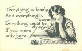 xrt269160 - Artist Bernhardt Wall Postcard Post Card Old Vintage Antique