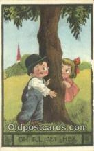 xrt269195 - Artist Wall, Bernhardt Postcard Post Card Old Vintage Antique