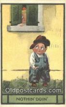xrt269197 - Artist Wall, Bernhardt Postcard Post Card Old Vintage Antique