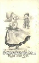 xrt269213 - Artist Wall, Bernhardt Postcard Post Card Old Vintage Antique