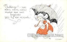 xrt272063 - Artist Signed Weaver, Postcard Postcards
