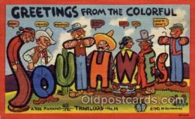 xrt277001 - Travelcard No. 14 Artist Reg Manning Postcards, Post Cards