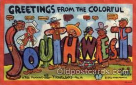 xrt277003 - Travelcard No. 14 Artist Reg Manning Postcards, Post Cards